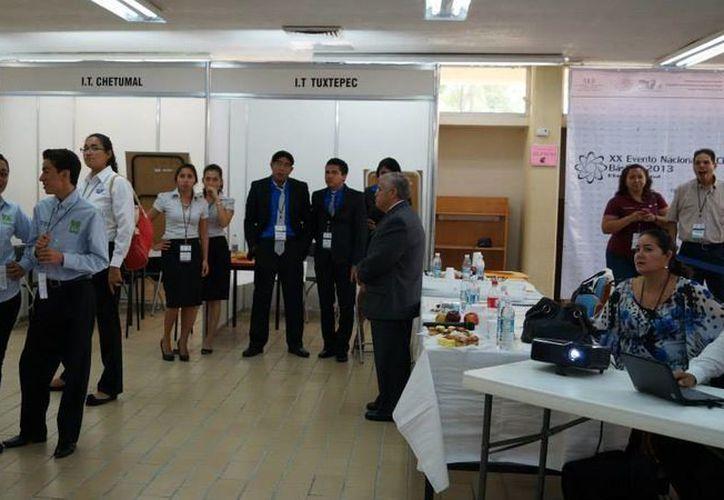 Instituto Tecnológico de Cancún fue sede del evento. (Jesús Tijerina/SIPSE)