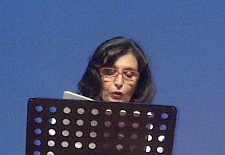 María de los Ángeles Mastretta. (Martha Cha/SIPSE)