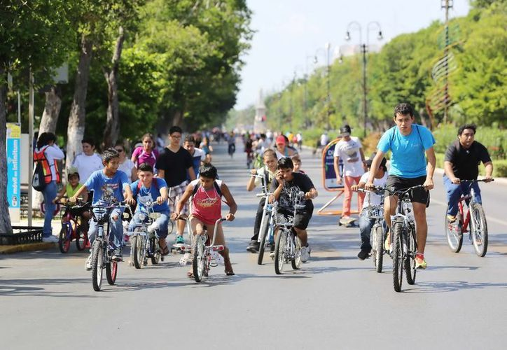 En ocho años han acudido a la Bici-Ruta 121 mil personas. (SIPSE)