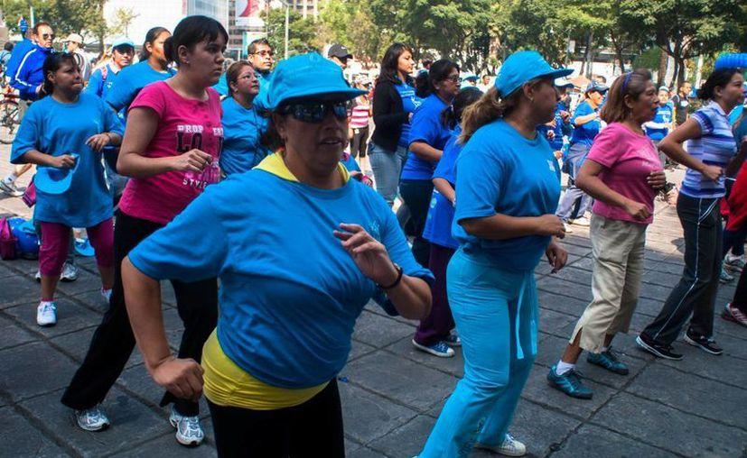 Piden fomentar acciones en pro de la actividad física para combatir el sobrepeso. (Archivo/Notimex)