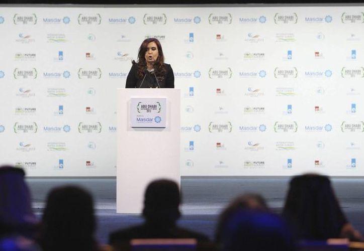 En la imagen, la presidenta argentina, Cristina Fernández de Kirchner. (EFE/Archivo)