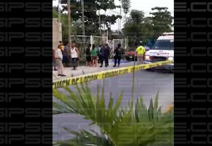El conductor perdió la vida tras ser apuñalado por sus pajeros, al resistirse a ser asaltado. (Redacción/SIPSE)