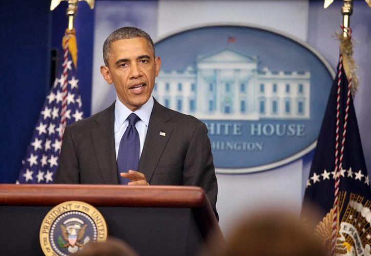 Obama recordó como incluso exhaustos corredores acudieron en auxilio de las víctimas. (EFE)