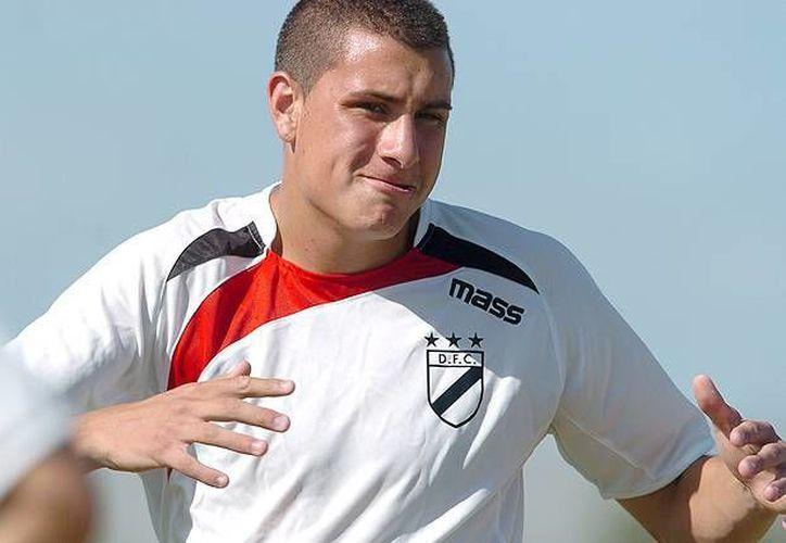 José María Giménez solo tiene 18 años, pero es seleccionado uruguayo. (tenfield.com.uy/Archivo)