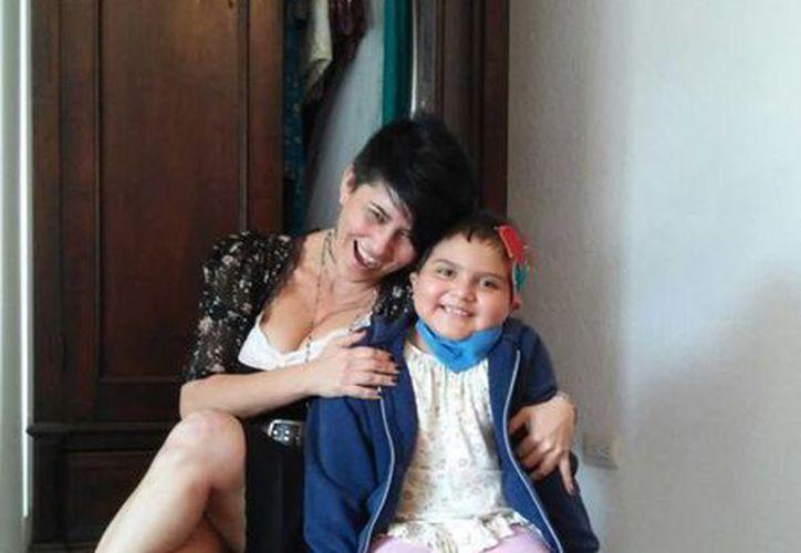 Kika Rodríguez comparte la alegría y la esperanza de Alexa. (Milenio Novedades)