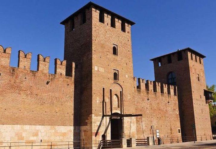 Fachada de Museo Cívico de Castelvecchio, en Verona, de donde delincuentes sustranjeron obras de arte con un valor de alrededor de 16 mdd. (dw.com)