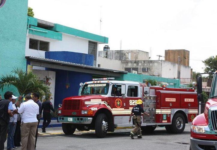 El Cuerpo de Bomberos atiende casos de incendio, fugas de gas, derrame de químicos u otro tipo de eventualidades. (Milenio Novedades)