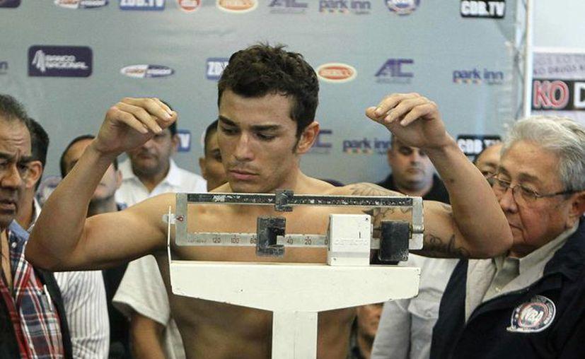 """El costarricense Bryan """"Tiquito"""" Vázquez. (EFE)"""