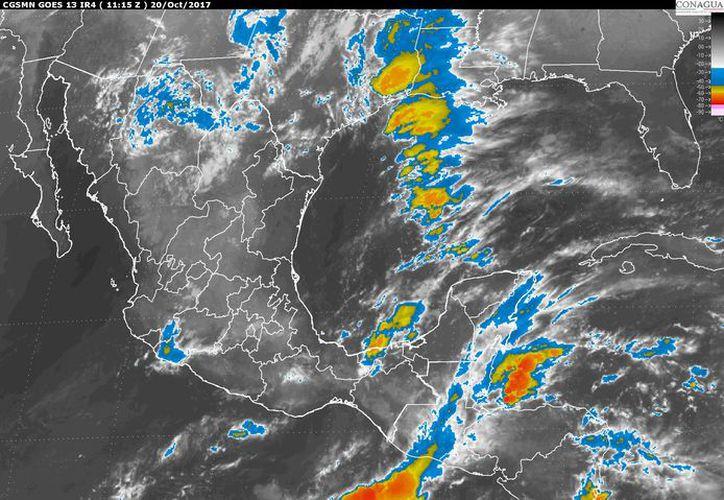 La temperatura mínima oscilará en los 23 grados centígrados en Chetumal. (Conagua)
