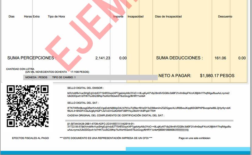 El maestro en derecho Ricardo Vladimir Landero Aramburu recomienda verificar tu comprobante de pago de inmediato. (Foto: Redacción)