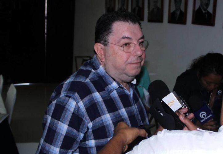 Jorge Escalante prevé que sólo unas 10 empresas participen en Acapulco. (Milenio Novedades)