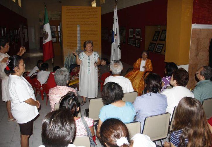 En el museo se ofreció una narración sobre su arribo de los coreanos al Estado. (Milenio Novedades)