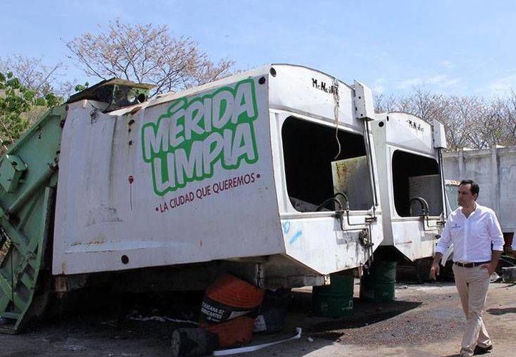 Mauricio Vila considera que Mérida debe seguir adelante para mejorar el servicio básico de recolección de basura. (Milenio Novedades)