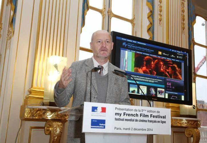 Imagen de la presentación de la quinta Edición del Festival Mundial Online de Cine francés. (myfrenchfilmfestival.com)