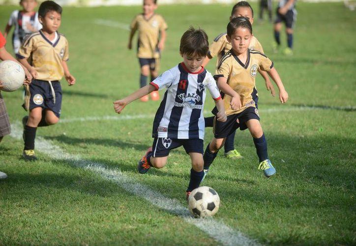 Acciones en la Escuela Modelo durante la Champions Interligas 2015. (Milenio Novedades)