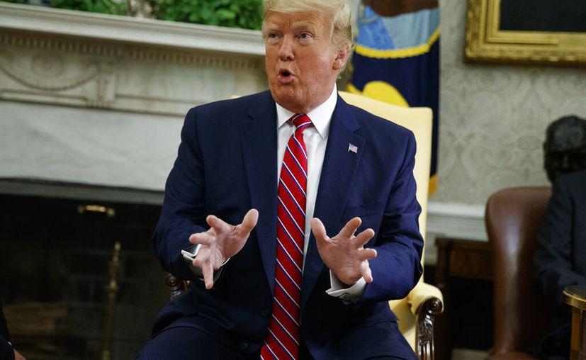 La Administración Trump ha dejado claro que su preferencia sería avanzar en firmar un Acuerdo de Tercer País Seguro. (AP Photo/Evan Vucci)