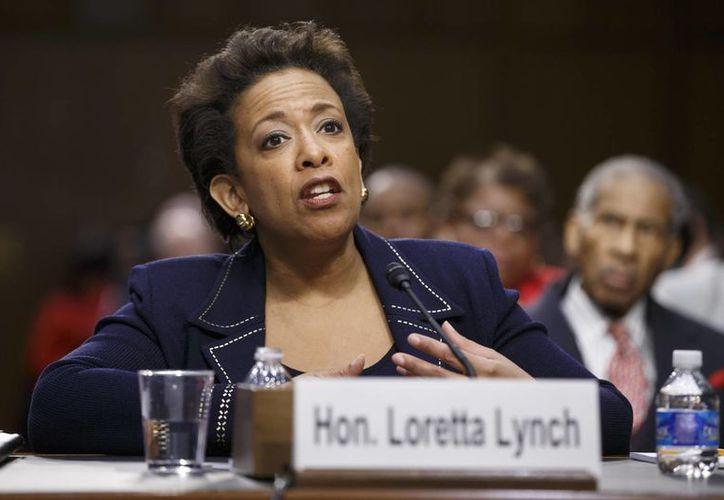 Loretta Lynch será la encargada de temas delicados para Estados Unidos, como el terrorismo. (AP)