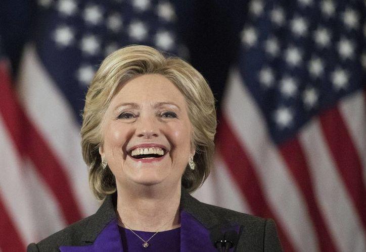 Hillary Clinton realizó las gestiones para obligar a un recuento de votos de las elecciones presidenciales de EU, en tres estados cruciales. (AP/Matt Rourke)