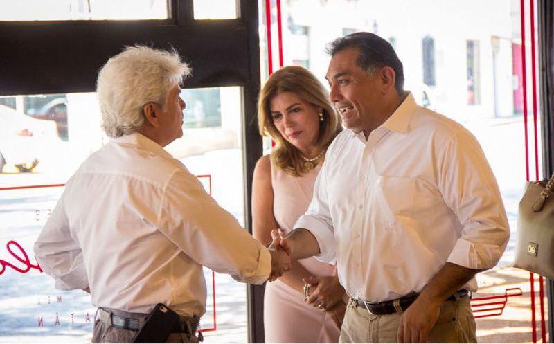 Víctor Caballero propone fortalecer seguridad en el Centro de Mérida. (Milenio Novedades)