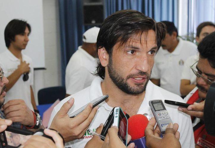 "Francisco ""Kikín"" Fonseca asegura que Querétaro será difícil. (Jesús Tijerina/SIPSE)"