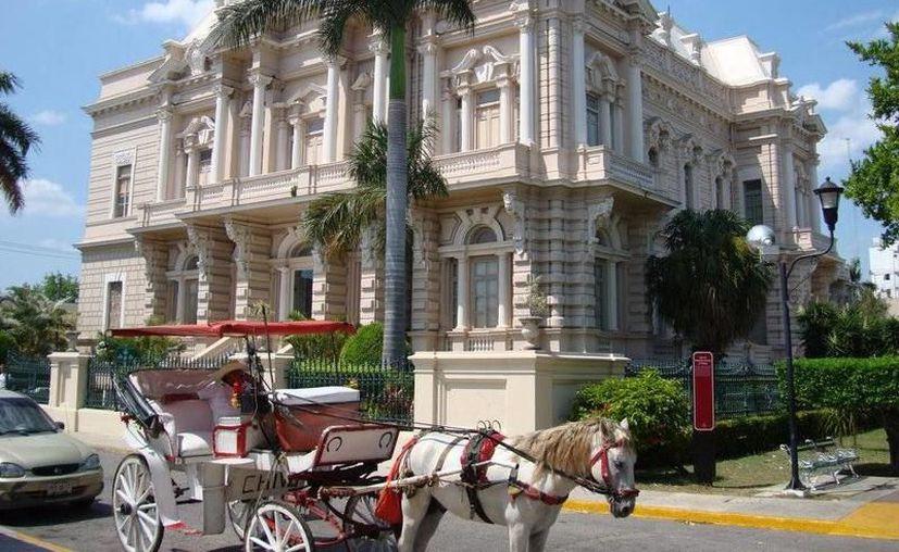 Mediante la integración de dos inmuebles al museo regional, Yucatán ampliará su oferta al público en el Paseo de Montejo. (SIPSE)