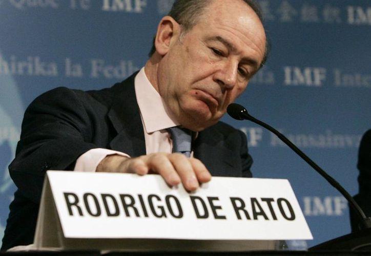 Rodrigo Rato fue uno de los hombres claves del gobierno de José María Aznar. (AP)