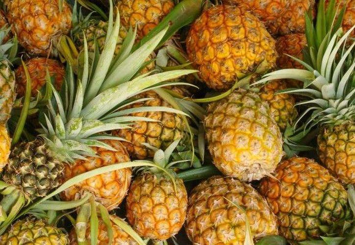 La piña es una fruta baja en calorías que activa el metabolismo. (Contexto/Internet).