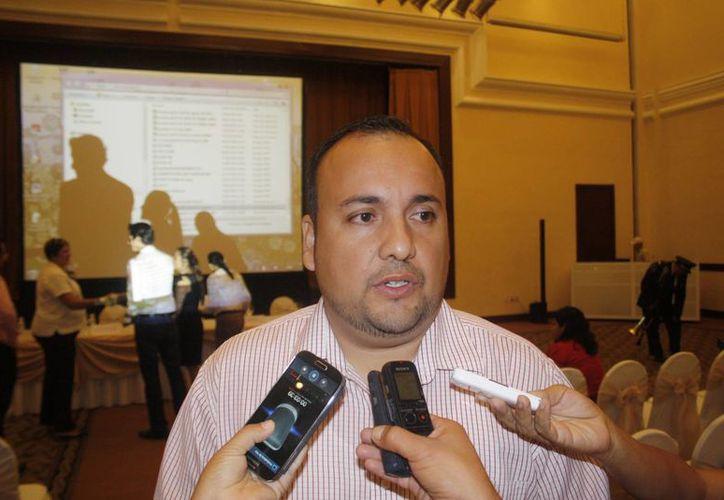 Eduardo Morentin Ocejo, director de Ordenamiento Ambiental y Desarrollo Urbano. (Loana Segovia/SIPSE)