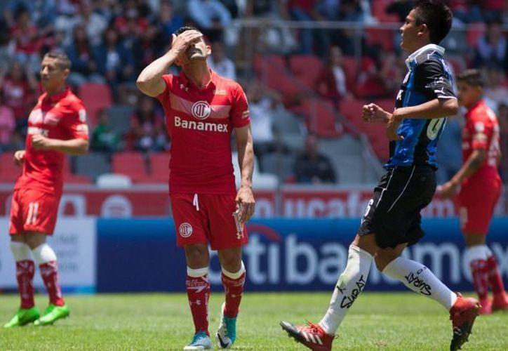 Toluca se queda con 26 unidades, en la quinta posición de la clasificación, quedándose muy lejos de la cima del Clausura 2017. (IMAGO7).