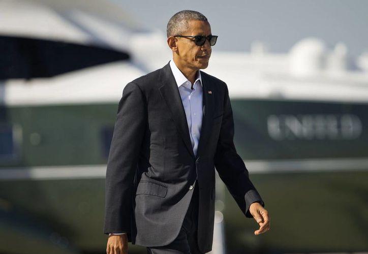 El presidente Obama asegura que seguirá activo en la vida política de los Estados Unidos. (AP)