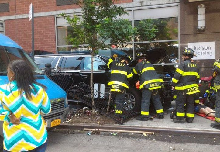 Una persona ha atropellado con su camioneta a varios transeúntes en Manhattan. (RT)