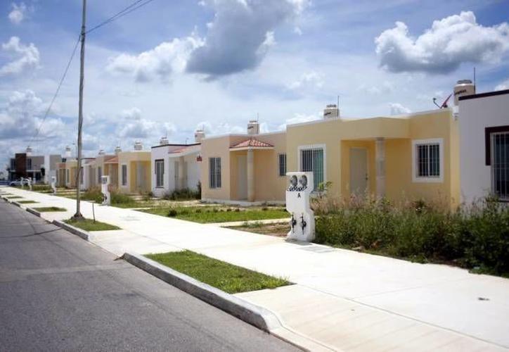 El Infonavit reportó que 2017 ha sido un año bueno para la colocación de créditos para vivienda en Yucatán. (Milenio Novedades)