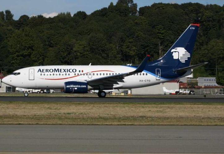 Aeroméxico asegura que las condiciones establecidas en los nuevos contratos son competitivas. (Archivo/SIPSE)