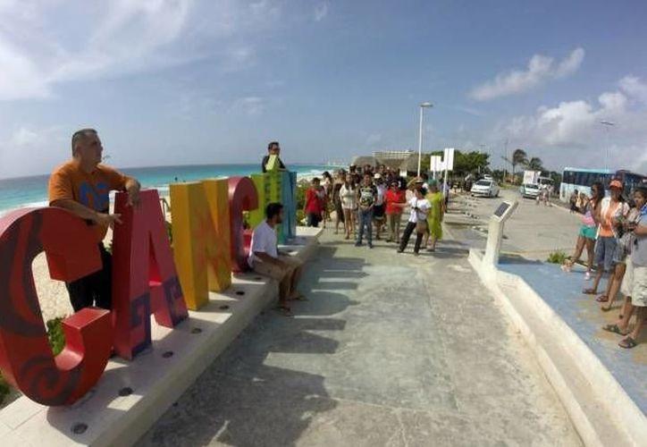 Los destinos turísticos de Quintana Roo esperan tener una buena ocupación turística durante las vacaciones de Semana Santa. (Archivo)