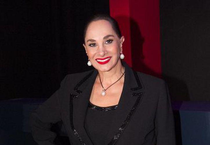 Susana Dosamantes escribirá una serie para televisión sobre la vida de los artistas. (Notimex)