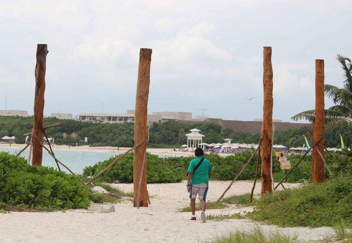 Esta semana se deben retirar las estructuras de madera. (Octavio Martínez/SIPSE)