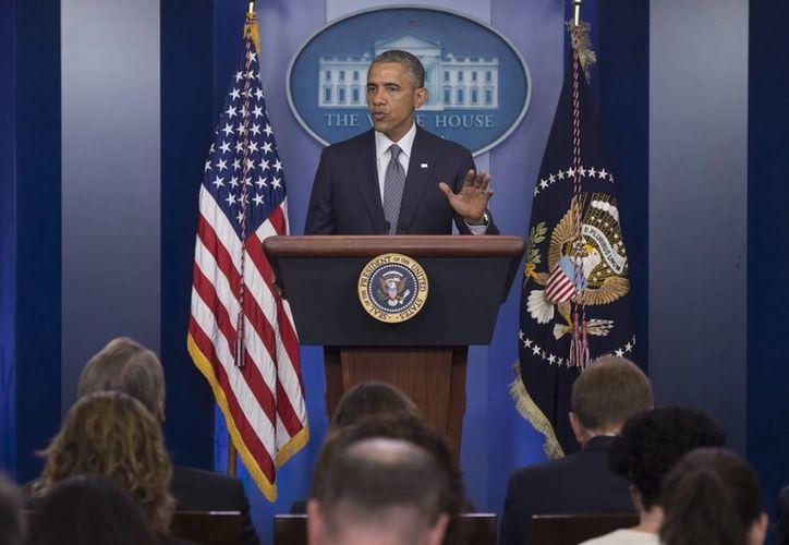 Obama: es necesario que todas las partes se adhieran a un alto el fuego inmediato. (EFE)