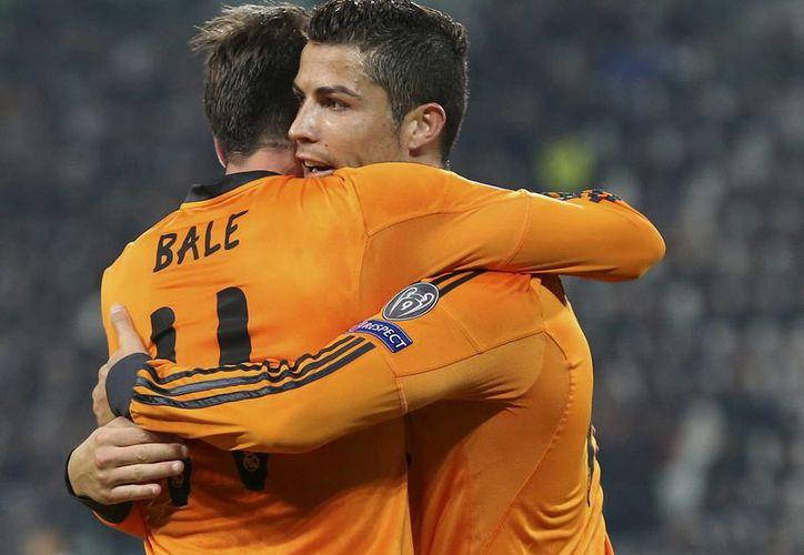 Gareth Bale y Ronaldo, las estrellas del encuentro Real Madrid y Juventus. (Agencias)