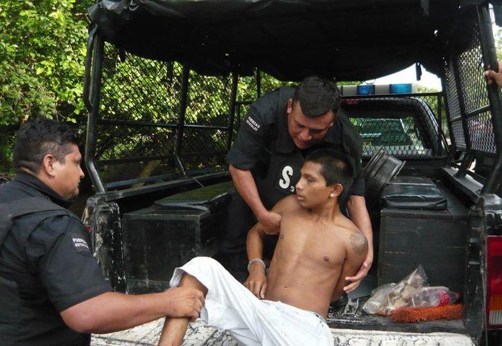 El domingo se vivió una tarde de violencia en la colonia Ampliación Plan de Ayala Sur. (Jorge Pallota/SIPSE)
