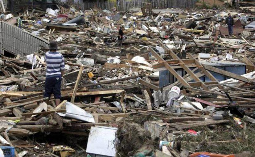 Chile sufrió uno de los peores desastres en febrero del 2010 dejando 2 millones de damnificados, muertos y heridos. (SIPSE)