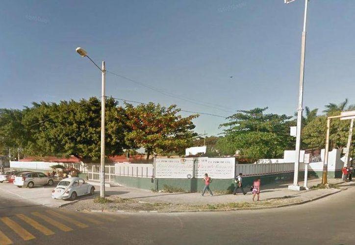 La escuela donde se registró el incidente se ubica en la Supermanzana 75. (Eric Galindo/SIPSE)