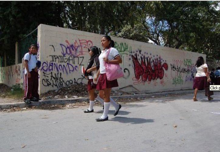 En diciembre del año pasado ocurrieron cuatro robos a escuelas. (wordpress.com)