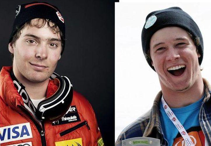 Bryce Astle (d), de 19 años, y Ronald Berlack, de 20, pertenecían al equipo C estadounidense. (Foto:AP)