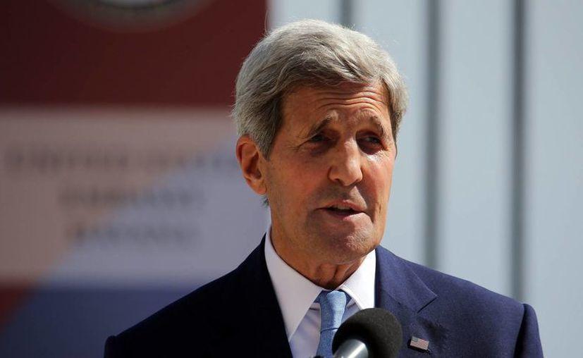 Imagen de archivo de el secretario estadounidense de Estado, John Kerry, quien habló sobre el aumento de la presencia militar de Rusia en Siria. (Archivo/EFE)