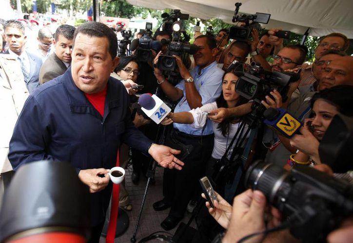 Hugo Chávez tuvo una especial relación con el ex presidente fallecido y presidenta de Argentina, Néstor y Cristina Kirchner. (Agencias)