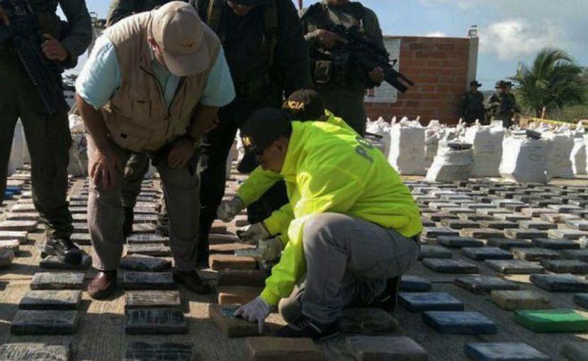 Incautan el mayor decomiso de droga en historia de Colombia, (Foto; Espectador)