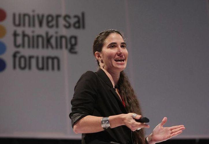 Este domingo la bloguera y activista cubana Yoani Sánchez hablará sobre la lucha por la libertad de expresión en su país. (Archivo/EFE)