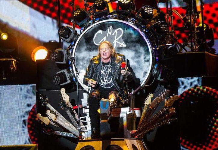 La banda liderada por Axl Rose,realizará una serie de conciertos por diversos países latinoamericanos.(Notimex)
