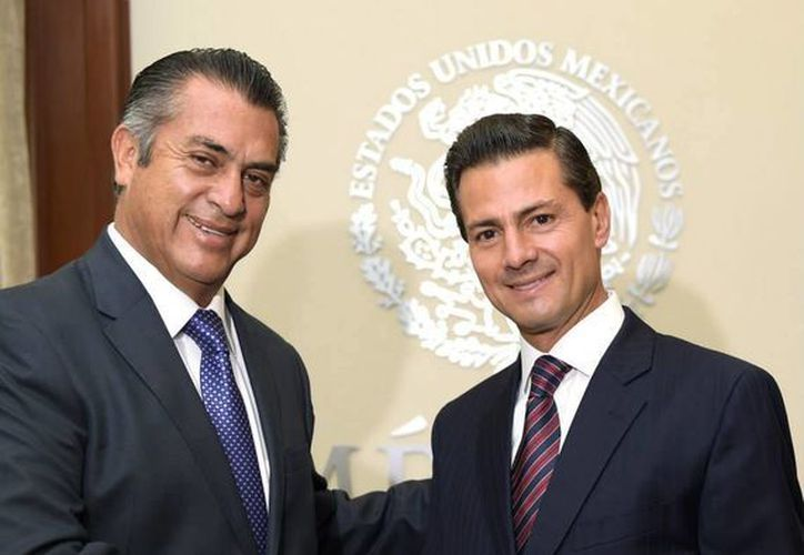 Jaime Rodríguez Calderón aseguró que el Presidente de la República le ofreció todo su apoyo en su gestión como gobernador de Nuevo León. (Presidencia)
