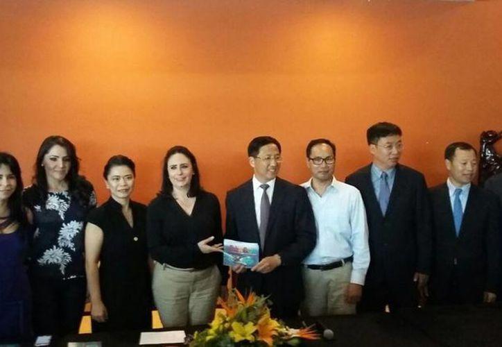 Realizan el acercamiento a través de la Asociación China Latina. (Israel Leal/SIPSE)